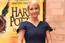JK Rowling at Harry Potter premiere