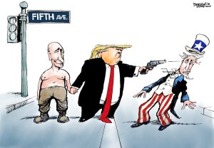 Putin Trump cartoon