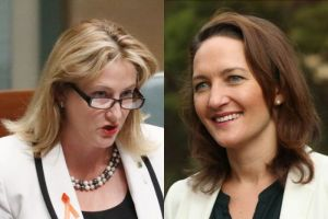 Rebekha Sharkie & Georgina Downer