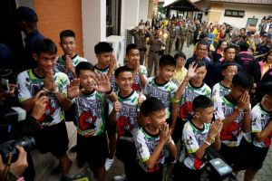 Thai Boys freed