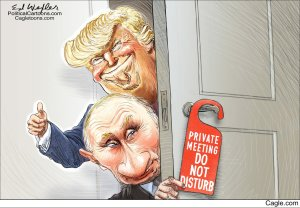 Trump Putin cartoon 2