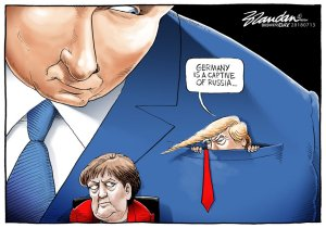 Trump Putin cartoon 4