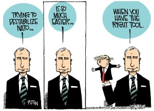 Trump Putin cartoon 5